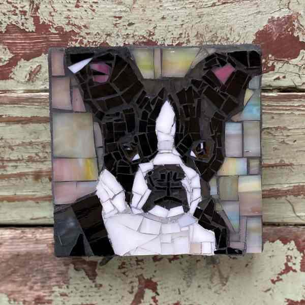 DeniseMosaics-Pet Portraits Dog Texas Pet Company