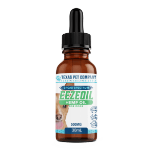 CBD Tincture 500mg Broad Spec for Dogs 1