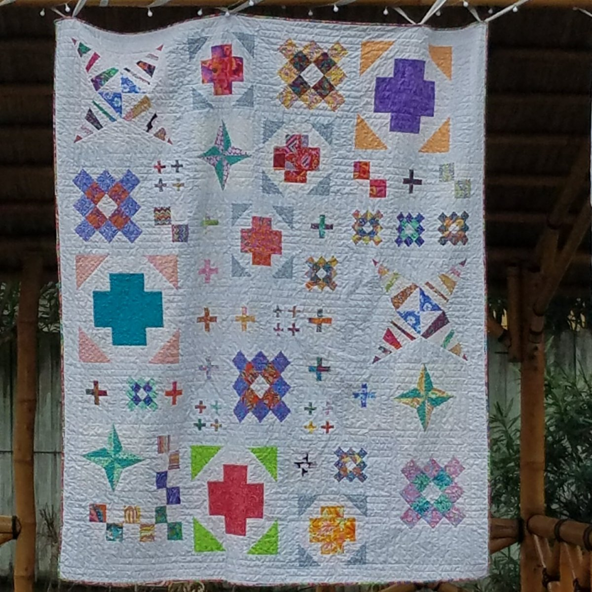 sampler quilt finished