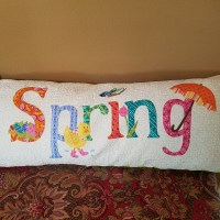 Spring pillow for spring
