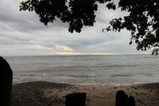 One last morning snapshot of the beach at Casa Astrid.
