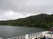 View of Peninsula de Nicoya as we approached it on the ferry.