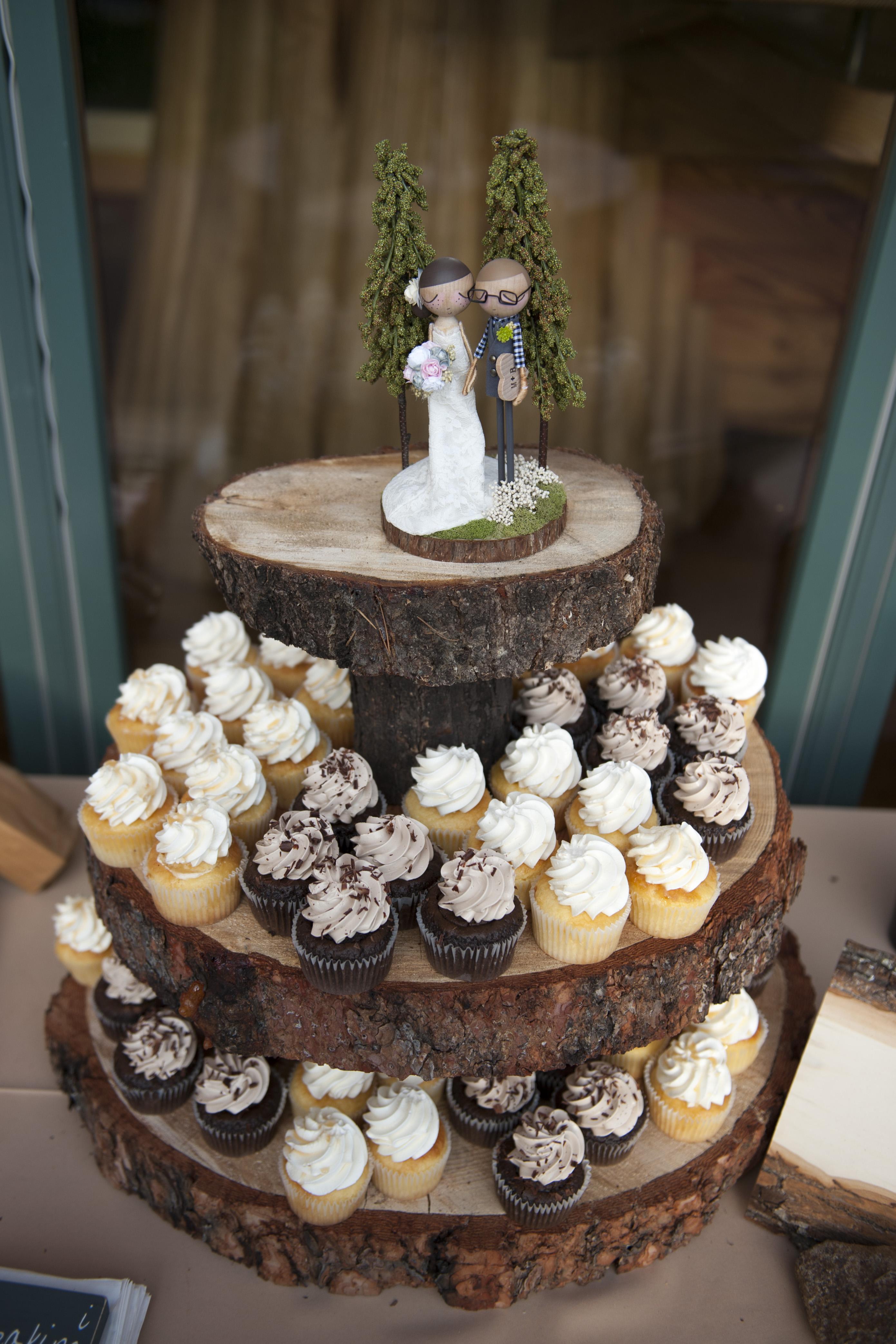 Wedding Recaps Our DIY Woodland Themed Decor Details
