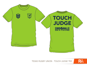 TRU Touch Judge and Assistant Referee Shirts