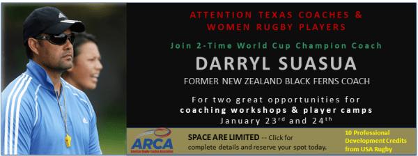 ACRA Player & Coach Camp in Texas
