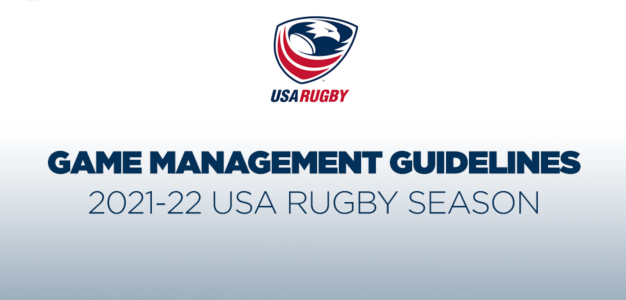 USA Rugby Game Management Guidelines -2021-22