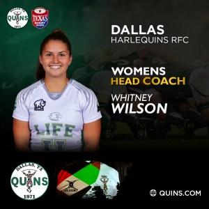 Women's Head Coach – Whitney Wilson