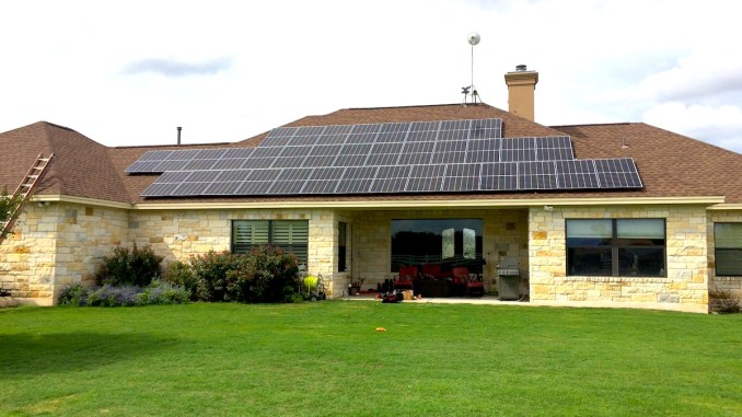 Georgetown Solar install