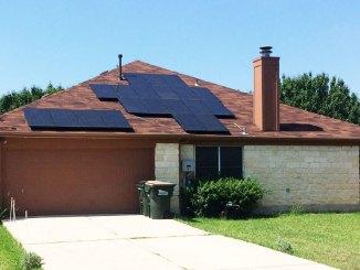Buda Sunpower Solar Reinstall