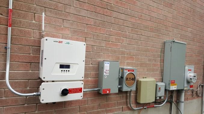 CPS Solar Install