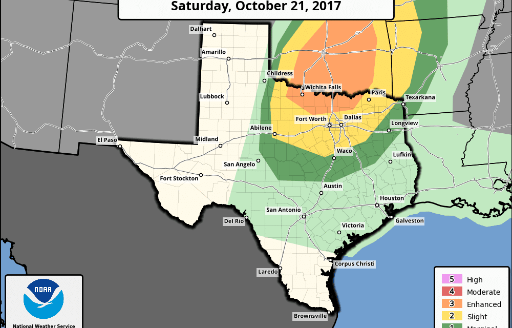 Severe Weather Threat Returns on Saturday