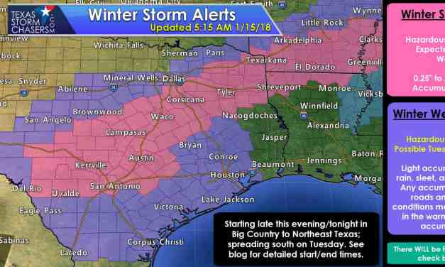 High-Impact Winter Weather Event Starts Tonight & Expands on Tuesday