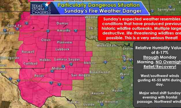 Destructive Wildfire Outbreak Likely Tomorrow in the Panhandle, West Texas, & Permian Basin