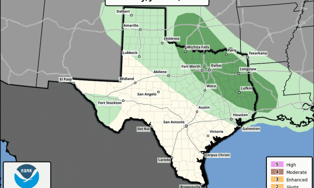 Another Round of Strong to Severe Storms Possible Late Tonight into Early Tomorrow Morning