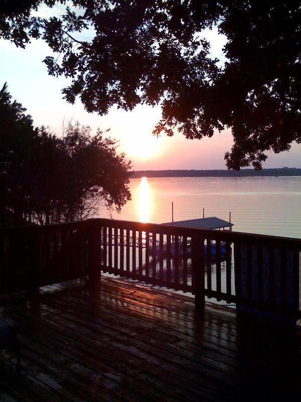 Sunset on Lake Texoma