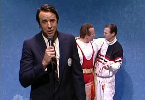 SNL's All Drug Olympics Skit