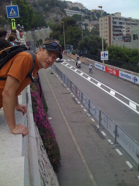 Kevin D from our perch on the TT course