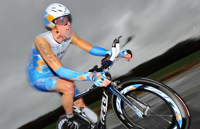 Pro Cyclist Bradley Wiggins