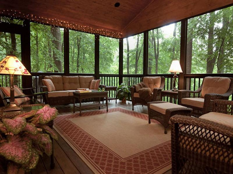 Ideas Decorating Screened Porch