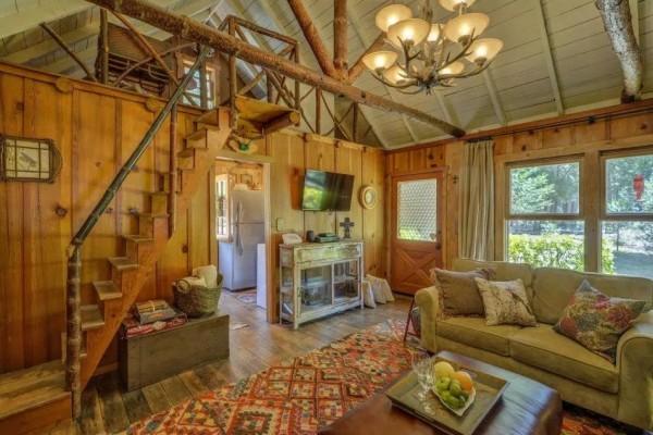 600 Sq Ft Wildflower Cabin