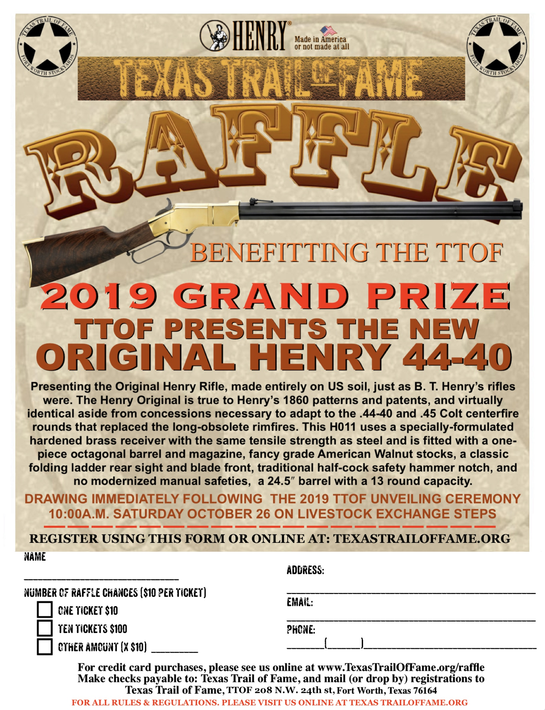 Raffle | Western Heritage from the Texas Trail of Fame