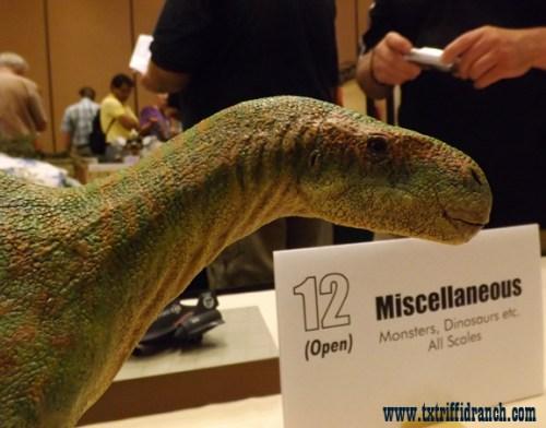 Tenontosaurus closeup