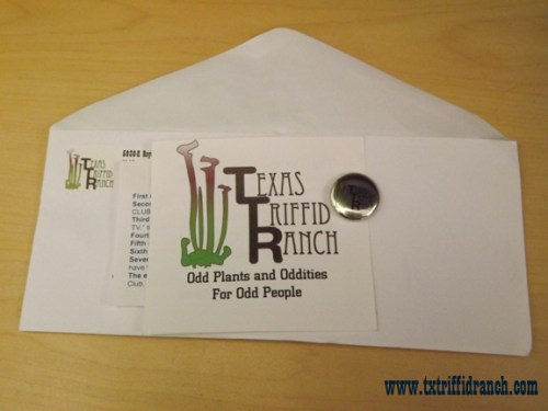 Texas Triffid Ranch package