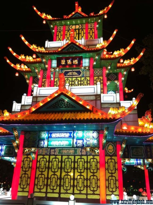 Chinese Lantern Festival - tower