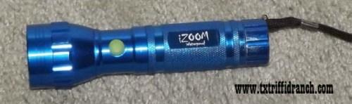 UV LED flashlight