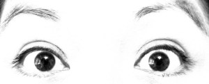 Doesn't my wife have just the most beautiful eyes?
