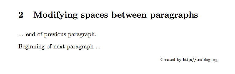 Correctly typesetting paragraphs in LaTeX – texblog