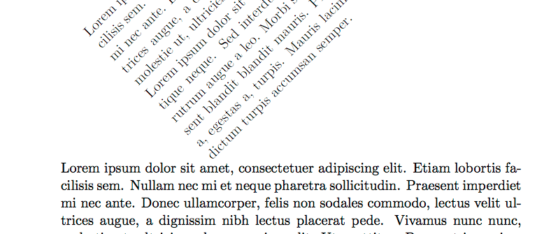 Includegraphics latex rotate