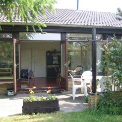 Blick aufs Haus Gartenseite