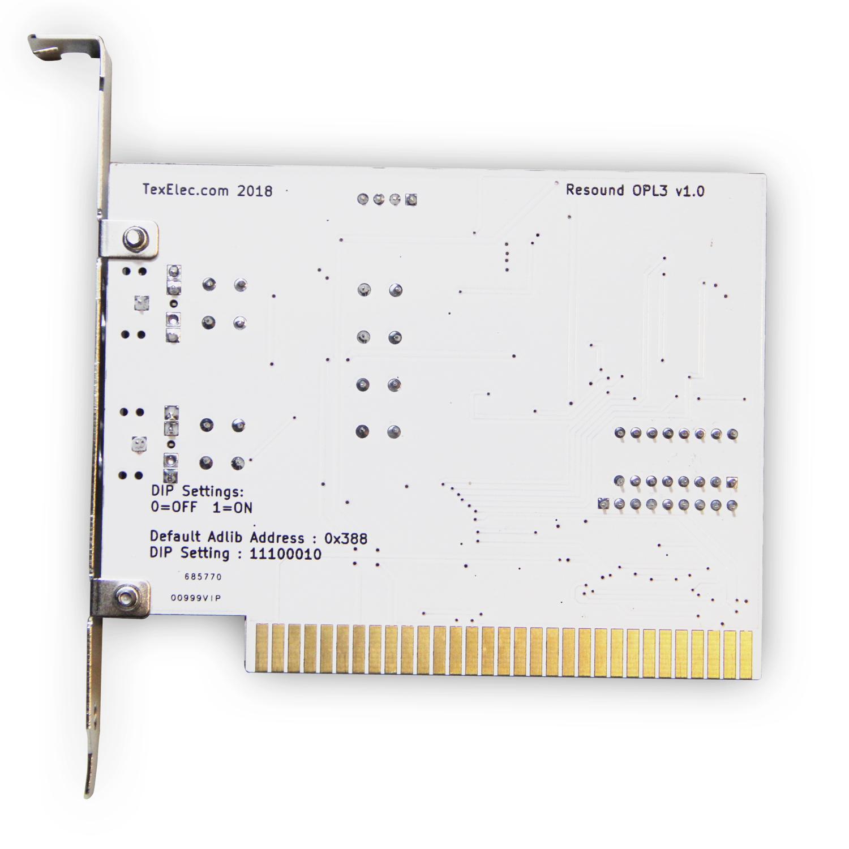 Resound OPL3 - 4 Channel Sound Card 8-Bit ISA