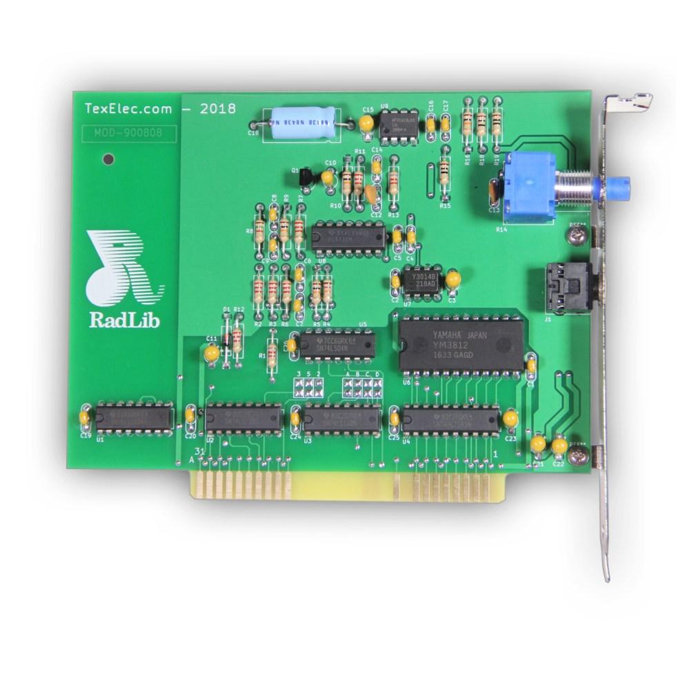 RadLib OPL2 Sound Card 8-Bit ISA – AdLib Clone