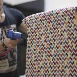 Servicio de tapicería de muebles