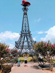 Cowboy Eiffel Tower, Paris, Texas