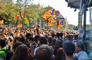 November 7, 2017 Catalonia rally.