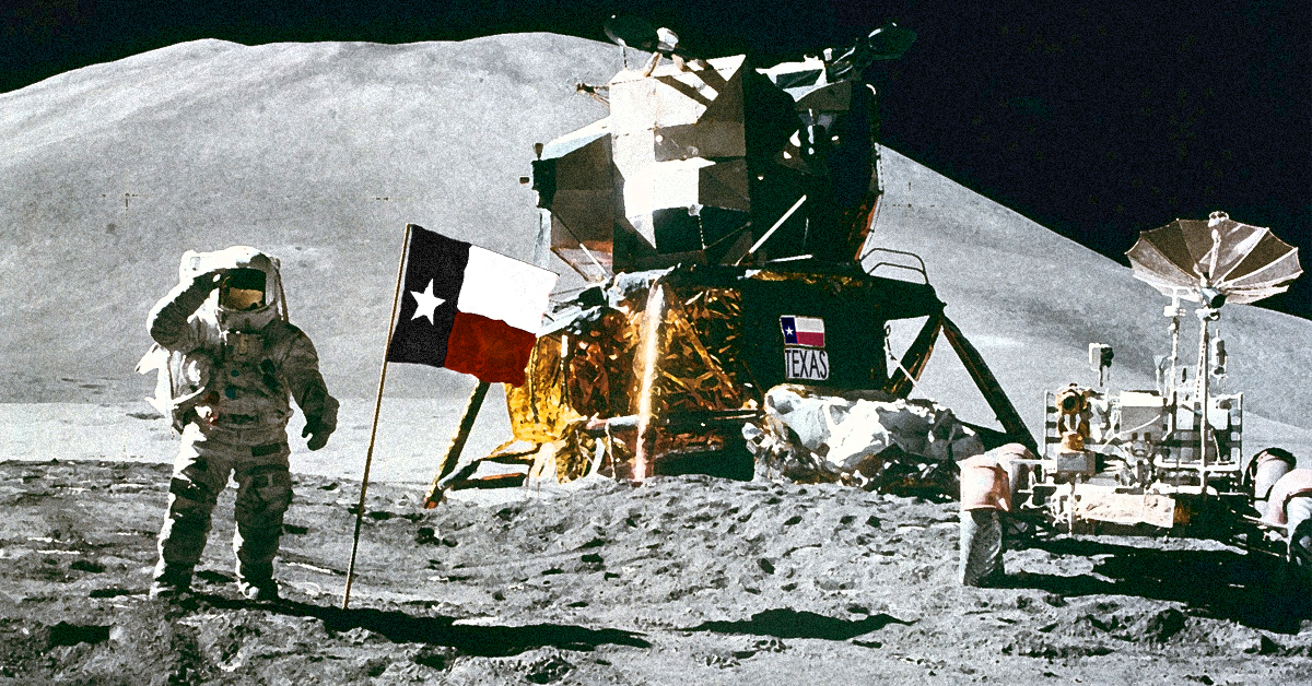 """Houston, Tranquility Base Here"""