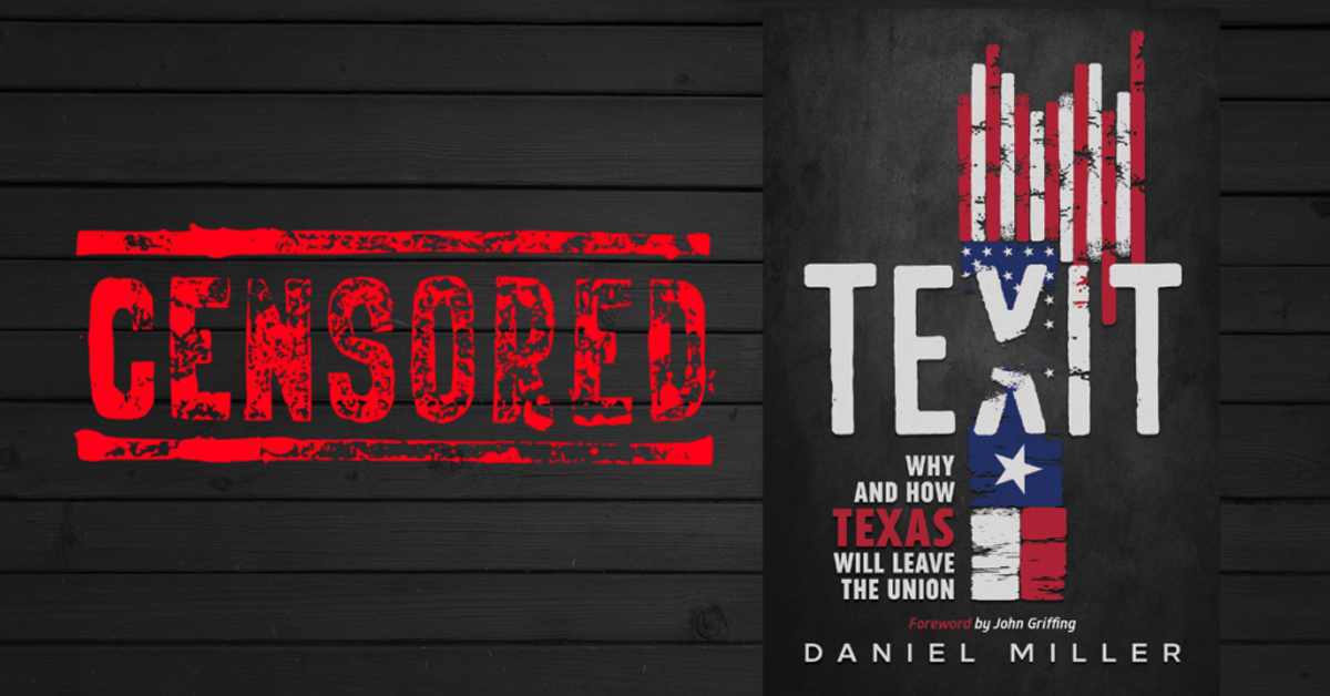 Amazon Backs Down on TEXIT Book-Ban