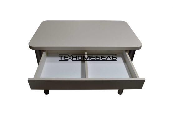 Стол кухонный с выдвижным ящиком купить