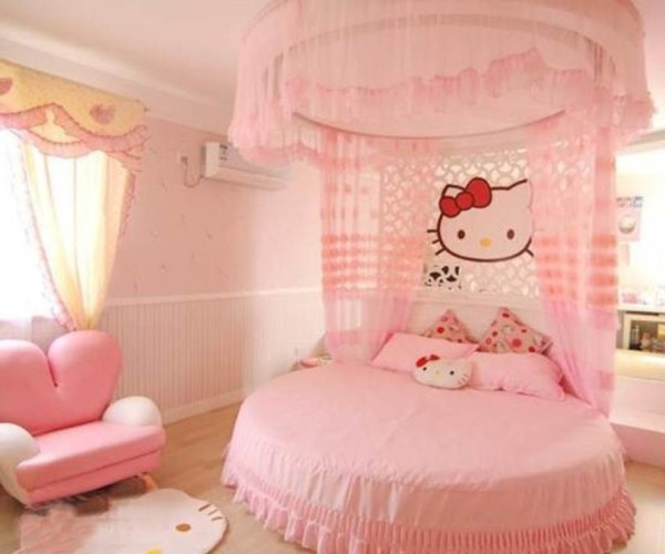 Hello Kitty Σχέδια παιδικού δωματίου4