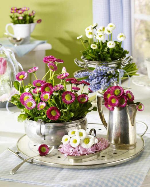 Ανοιξιάτικη Διακόσμηση με λουλούδια και φυτά11