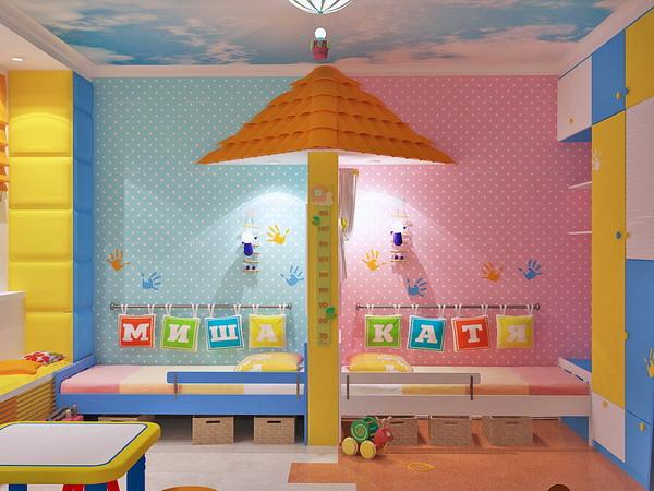 Απίθανα φωτεινά παιδικά δωμάτια