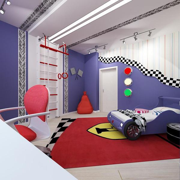 Απίθανα φωτεινά παιδικά δωμάτια10