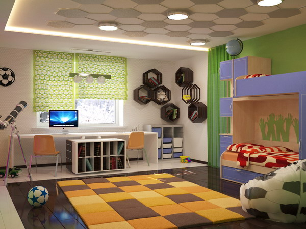 Απίθανα φωτεινά παιδικά δωμάτια17