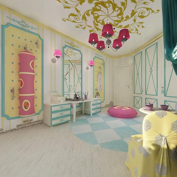 Απίθανα φωτεινά παιδικά δωμάτια7