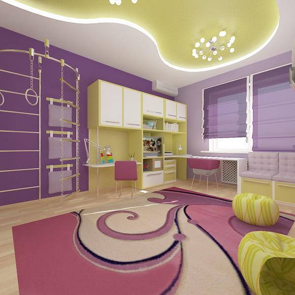 Απίθανα φωτεινά παιδικά δωμάτια9
