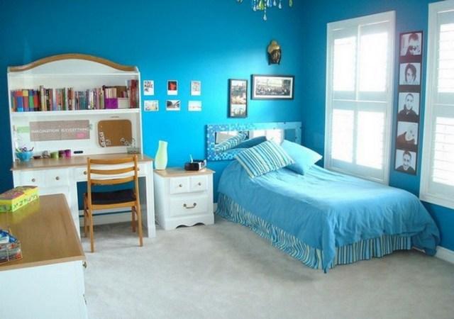 Μπλε χρώμα στην εσωτερική διακόσμηση11