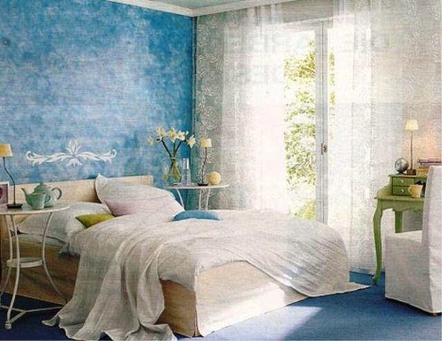 Μπλε χρώμα στην εσωτερική διακόσμηση2